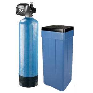 Simplex Water Softener with Clack WS1 CI Digital METER Controller, 1