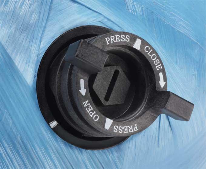 Manual Backwashing Kit (Supplied Empty) 1